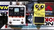 Bass Effects Pedal Demo - Soundblox Tri-Mod Wah - video