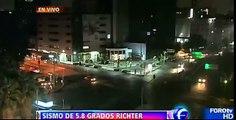 TEMBLOR 5.7 GRADOS 24 DE MAYO 2014 D.F #SISMO MEXICO