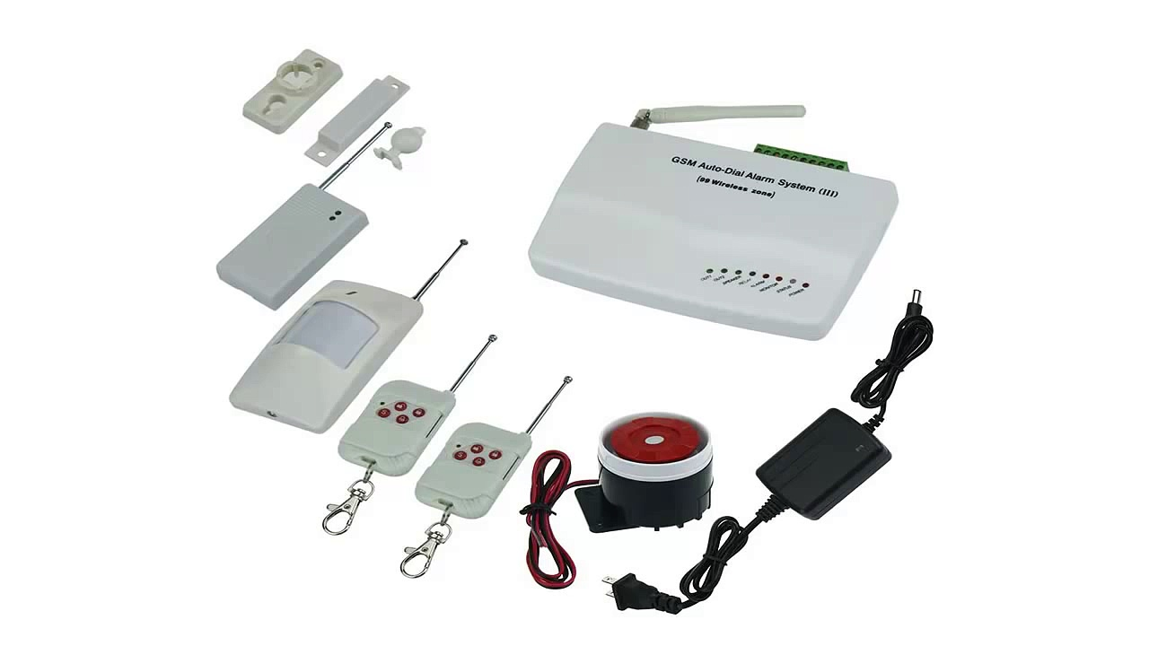 Fuloon(TM) GSM Wireless Home House Security System Burglar Alarm With Autodialer