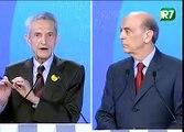PLÍNIO PEGUNTA A SERRA - Debate Rede Record 26-09-2010