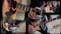 Civil War (Guns N' Roses) Full band cover & Solos - Bass/Guitar/Drums (Karl Golden)