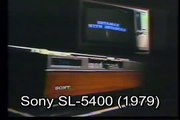 TV Commercial for the Sony Betamax SL-5400 VCR - 1979!!