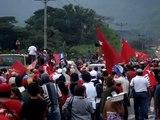 Llegada de Presidente Zelaya a El Salvador