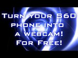 Use a phone as a webcam for free! Wireless webcam for free!