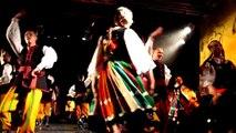 Danses folkloriques polonaises au Festival de Musiques & Danses du Monde sur TV28 (extrait).