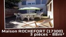 A louer - Maison/villa - ROCHEFORT (17300) - 3 pièces - 88m²