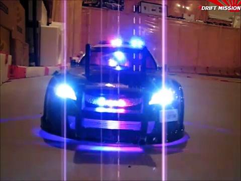 1:10 Los Angeles Police Dept. RC Drift Police Car Custom