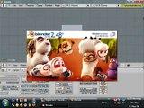 Blender Tutorial - VBlur (Vector Blur) and MBlur (Motion Blur)_need2know basis
