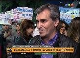 Los famosos en Ni Una Menos - Telefe Noticias