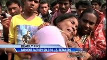Bangladesh Garment Factory Fire Leaves 112 Dead