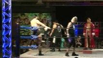 Shuji Kondo, KAI & Kaz Hayashi vs. Hideki Suzuki, NOSAWA Rongai & MAZADA (Wrestle-1)