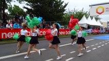 Les POM POM GIRLS aux Courants de la Liberté à CAEN le 14 juin 2015