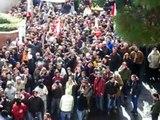 hooligans ultras scontri italia arrivo corteo lucchesi pisa-lucchese- 2006