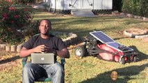 How To Build A Solar Charged RC Electric Lawn Mower - Intro