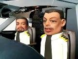 Têtes à claques  - Pilote d'avion