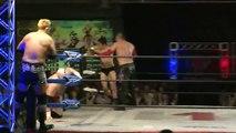 Masakatsu Funaki, Ryota Hama, Hiroki Murase & Shotaro Ashino vs. Masayuki Kono, KAZMA SAKAMOTO, El Hijo del Pantera & Punisher Big Brute (Wrestle-1)
