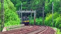 VLAKY-DIMIR: Adamov - Blansko (novohradské tunely) - ( trať 260)  5.5.2009