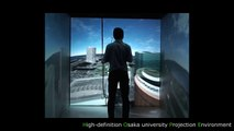 ARCHITECTURAL WALKTHROUGH SIMULATOR ON IMMERSIVE PROJECTION DISPLAY
