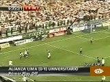 LA VICTORIA FUE CREMA EN MATUTE...UNIVERSITARIO GANA A ALIANZA LIMA 1-0  08/12/09