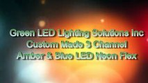 Amber Blue Color Changing LED Neon Flex