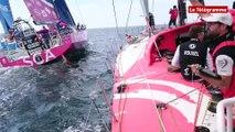 Voile. Volvo Ocean Race : la régate In-Port à bord de Dongfeng