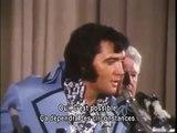 ELVIS - INTERVIEW MADISON SQUARE GARDEN DE NEW-YORK EN JUIN 1972 - EN FRANCAIS