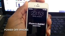 how to restore a locked iphone/ipad/ipod touch - video