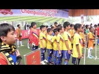 Grand Final McDonalds Junior Futsal Championship 2013