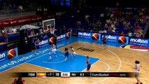 EuroBasket 2015 (F) - Le panier à trois points le plus étrange de l'histoire