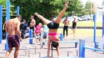 Bondi Beach Bar Brutes | Pull Ups + Freestyle Comp | Bondi Beach