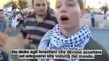 """Saviano dice: """"Democrazia Israeliana""""!_guardate Israele come tratta un PACIFICO ragazzo."""