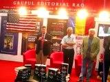 Larry Watts despre cartea sa, la Bookfest, alaturi de Retegan, Talpes, Dancu si Maior, seful SRI