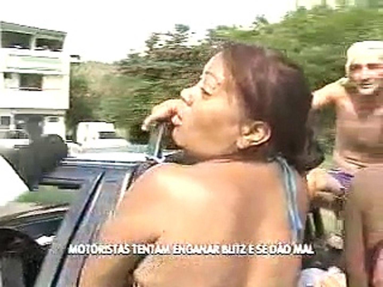 Flagrante no Trânsito: motoristas tentam enganar blitz e se dão mal, por Daniel Vasques
