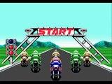 Super Hang-On (Sega Mega Drive / Sega Genesis) - (Asia | Junior Course - 10 Stages)