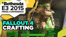 Fallout 4 Crafting Gameplay Madness - E3 2015 Bethesda Press Conference