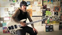 Fieldy from Korn on the Ibanez K5LTDWH bass