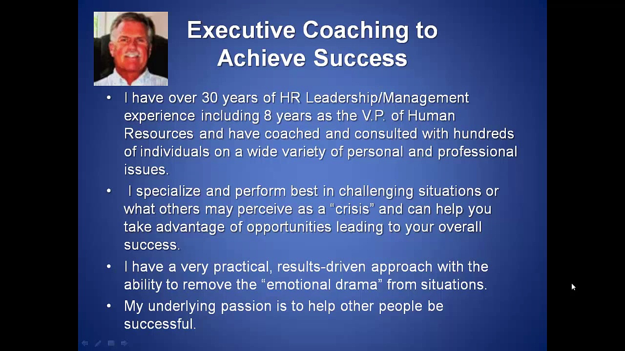 Executive Coaching to Achieve Success