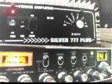 CB RADIO 2 PILLS  AMP  4500 MILES AWAY Brazil calling DX USA ALABAMA and MISSISIPI