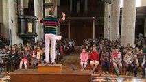 Citadelle d'Amiens 350 jeunes chantent une oeuvre sonore originale