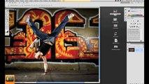 """Photoshop cs5 CS6 tutorial tutoriel tuto - français - importer par """"glisser / déposer"""""""