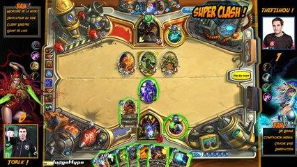 SuperClash HearthStone : Torlk vs TheFishou