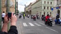 Motoros felvonulás Szeged 2014