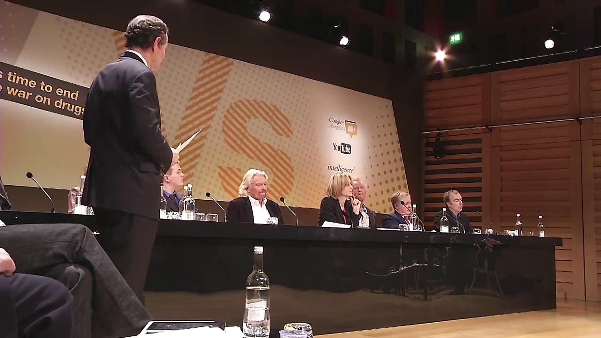 War on Drugs - Peter Hitchens' moral argument against drugs. Versus debate extract.