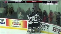 Clarkson-Union Men's Hockey Highlights (Feb. 28, 2015)
