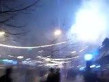 Finalul artificiilor - Campina Revelion 2008