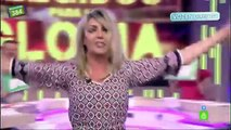 Anna Simon imita a Raffaella Carrà en 'Zapeando'