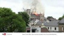 Les images impressionnantes de la basilique Saint-Donatien-et-Saint-Rogatien en feu
