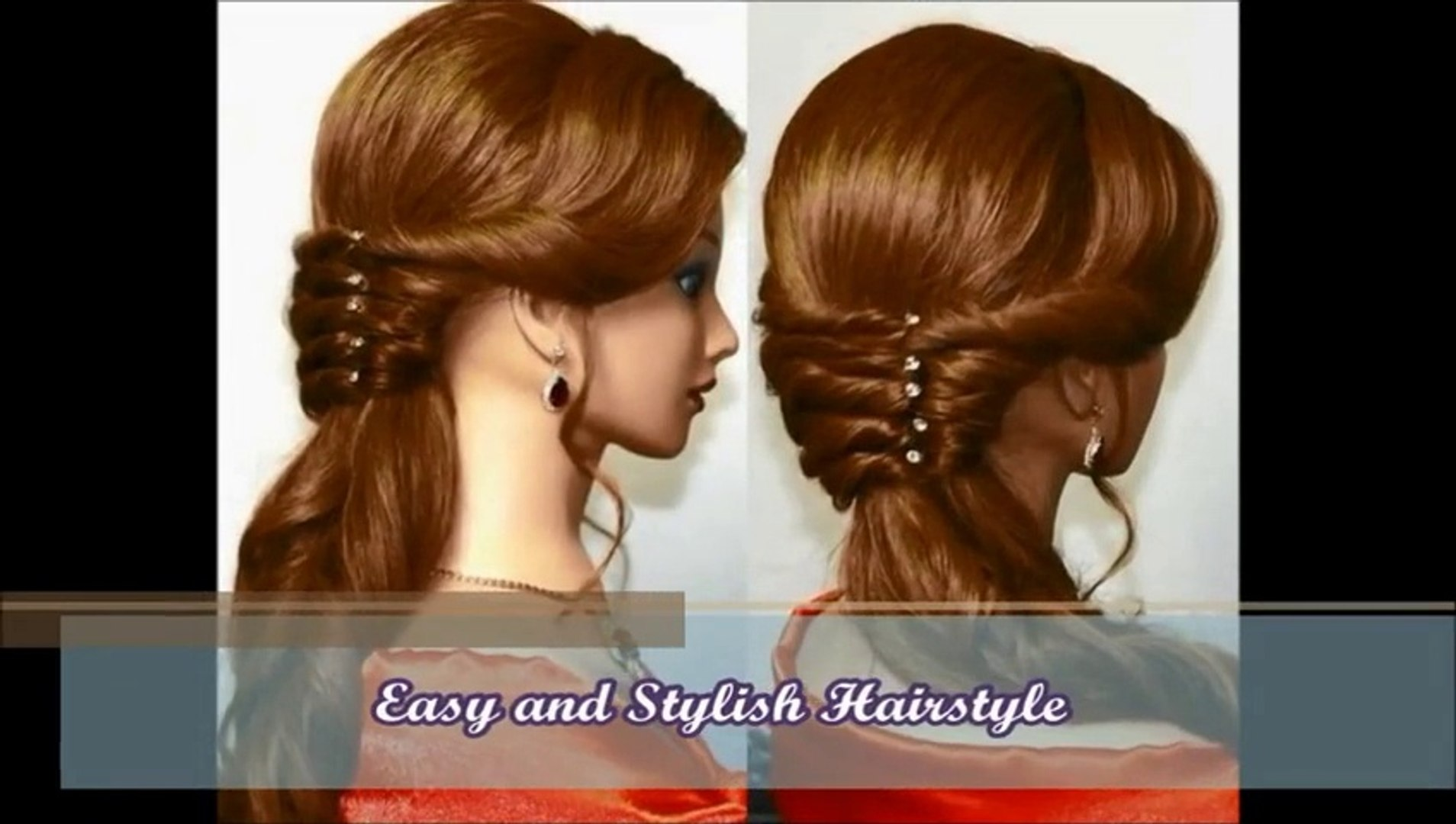 easy and stylish hairstyle