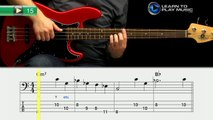 Ex015 How to Play Bass Guitar   Slap Bass Guitar Lessons for Beginners