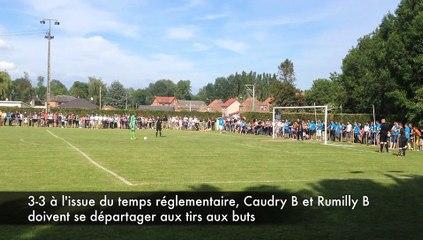 Séance de tirs aux buts Finale Coupe Lorquet Caudry B et Rumilly B